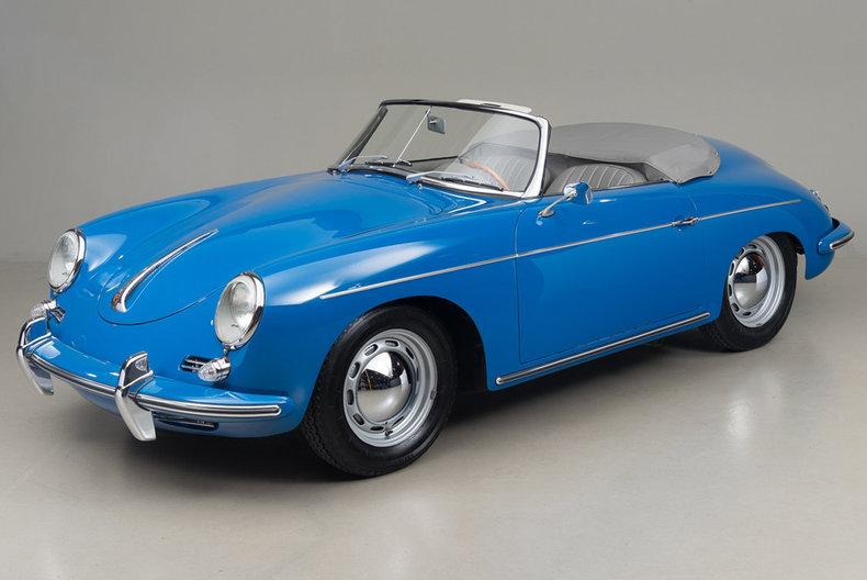 1960 Porsche 356 B Roadster B Roadster_5045