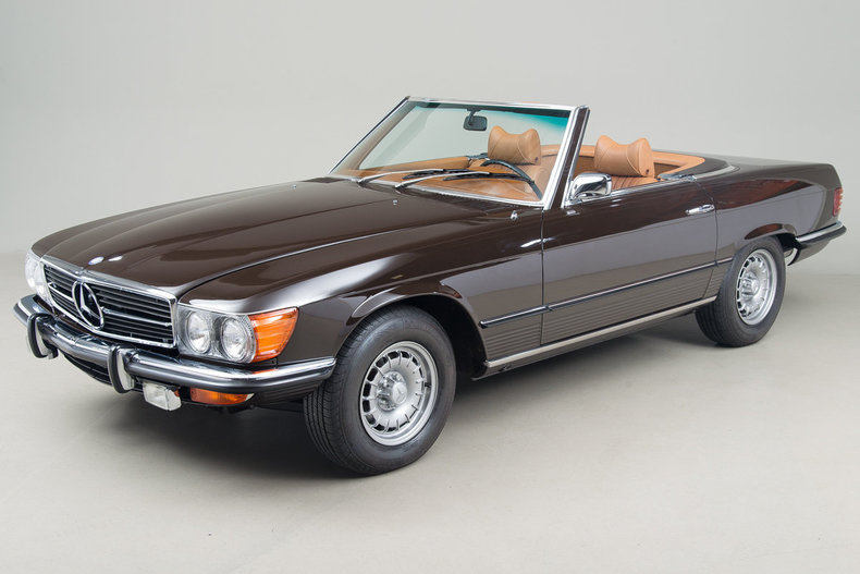 1972 Mercedes-Benz 350SL Roadster_5046