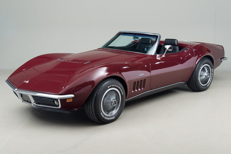 1969 Chevrolet Corvette 427 Convertible_5071