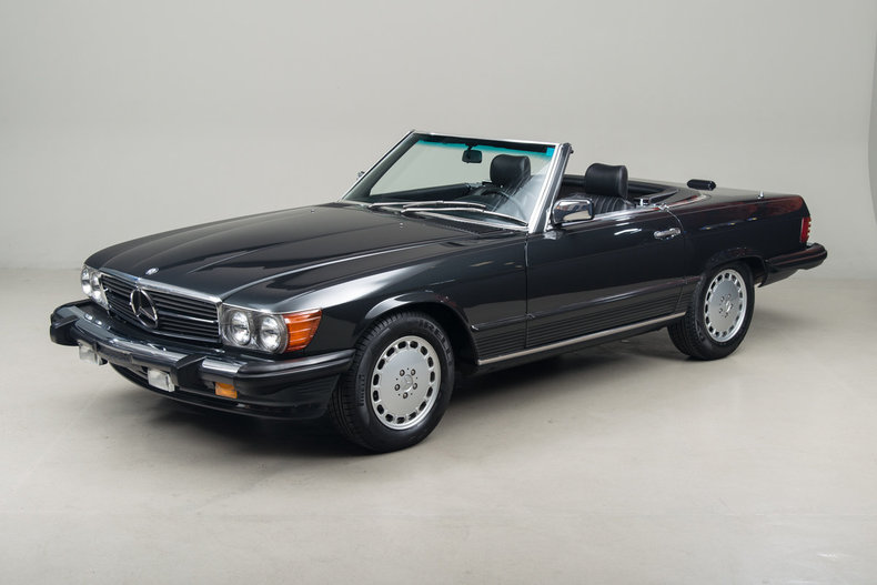 1989 Mercedes-Benz 560SL 560 Series 2dr Coupe 560SL Roadster_5163