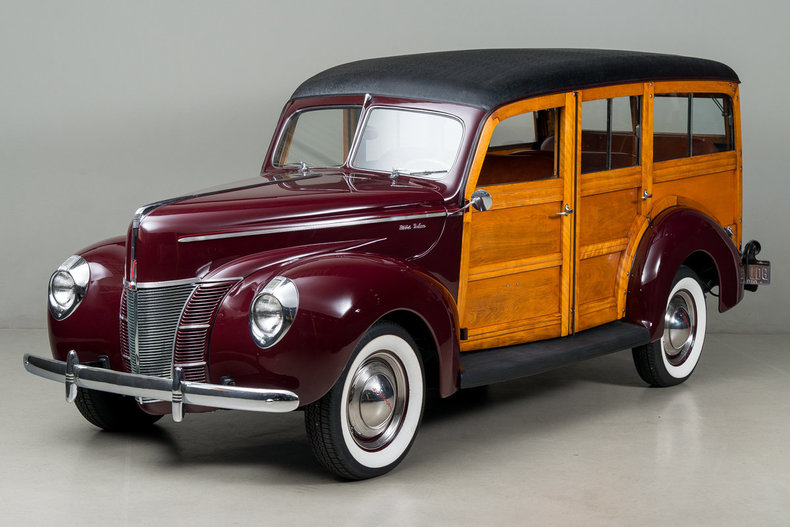 1940 Ford Deluxe Woodie _5420V
