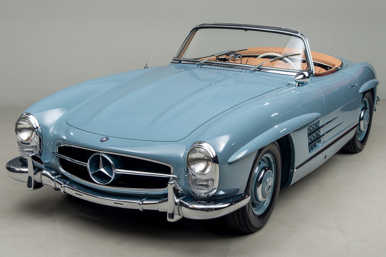 1960 mercedes benz 300 sl roadster 5255. Black Bedroom Furniture Sets. Home Design Ideas