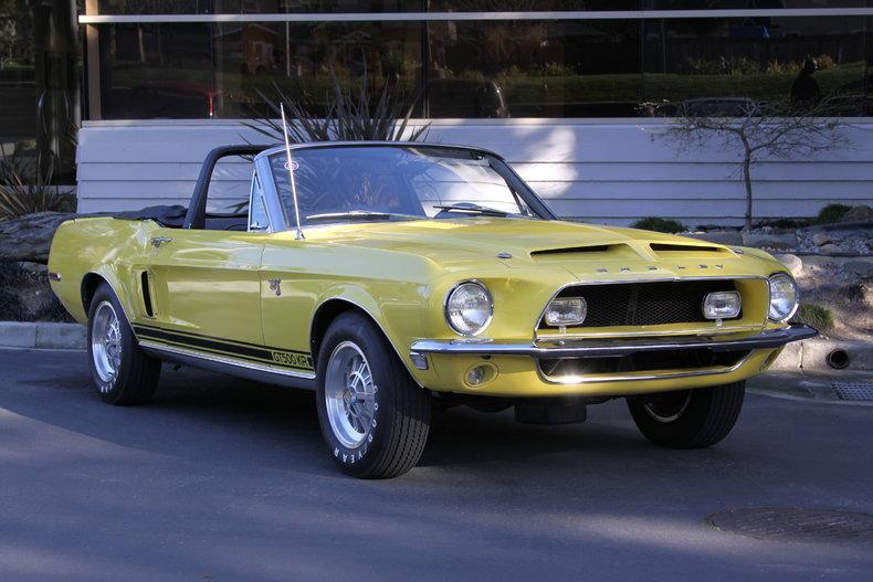 1968 Shelby Mustang GT500 KR_8T03R210102-03481