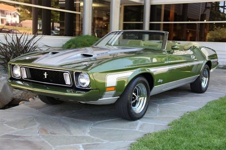 1973 Ford Mustang Ram Air_3969