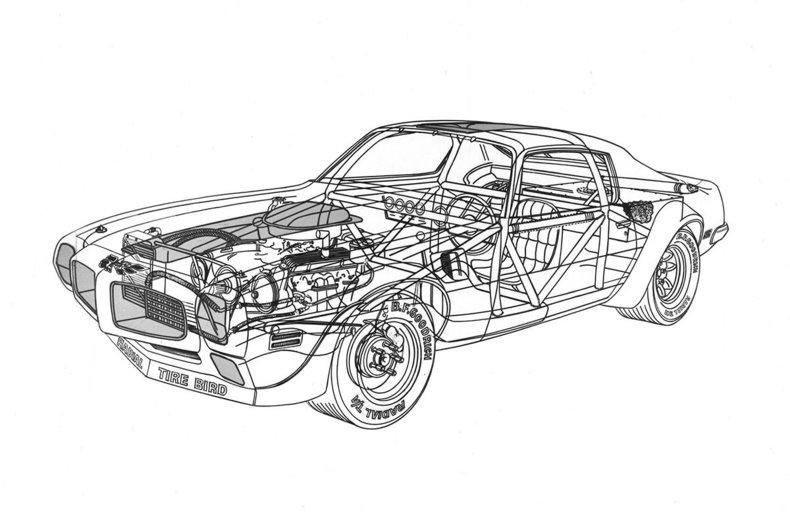 1970 pontiac firebird trans