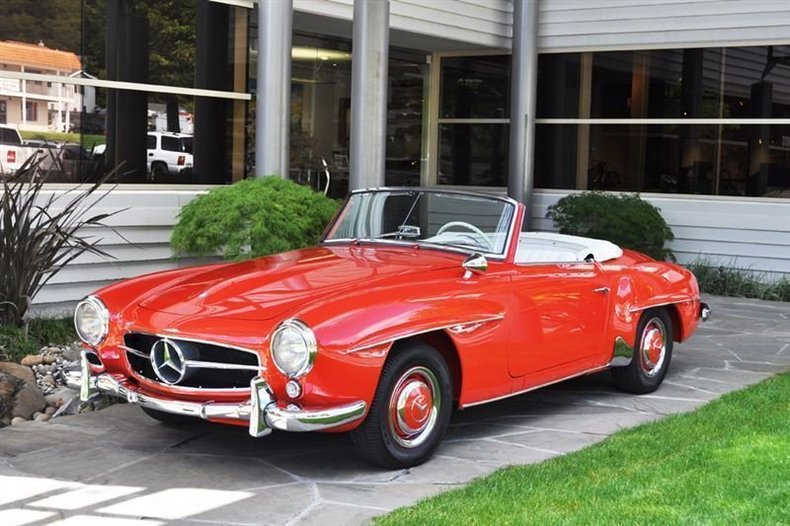 1955 Mercedes-Benz 190SL Roadster_4199