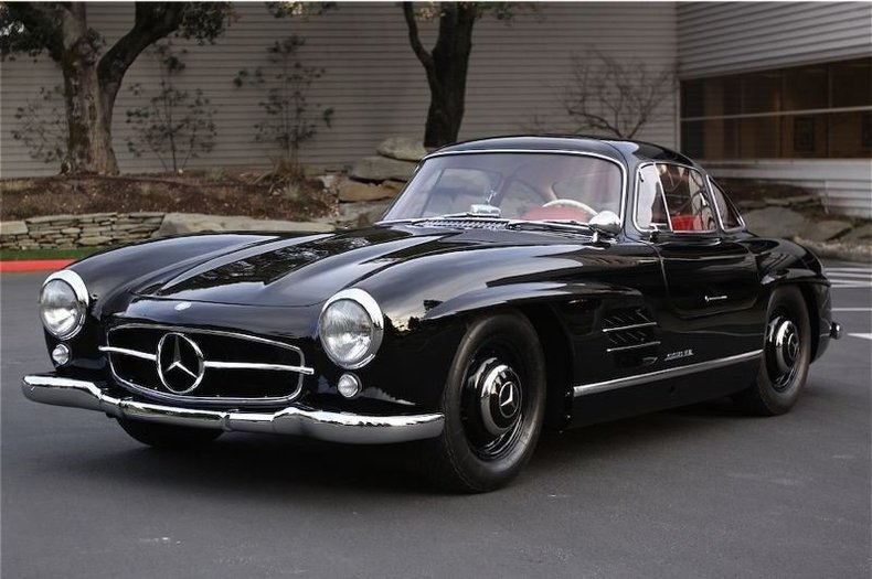1955 Mercedes-Benz 300SL Gullwing_4249V