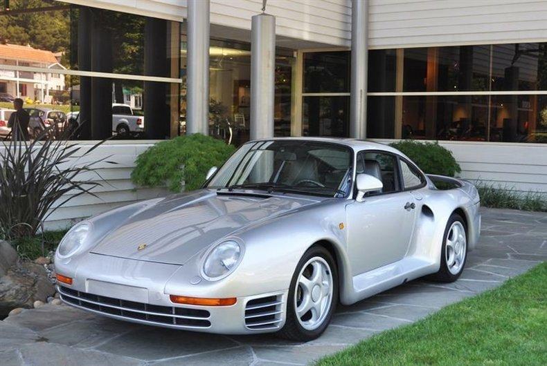 1988 Porsche 959 Silver_4158