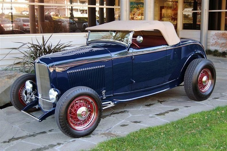 1932 Ford Roadster HiBoy_4364