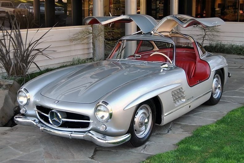 1955 Mercedes-Benz 300SL Gullwing_4279