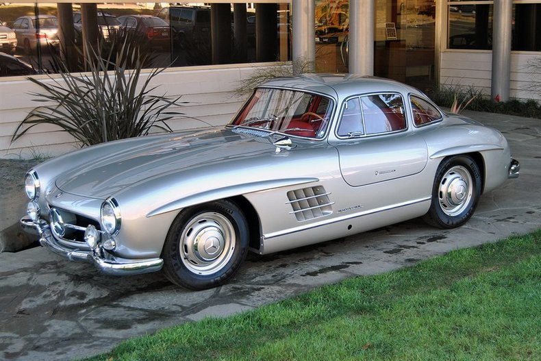 1954 Mercedes-Benz 300SL Gullwing_4572