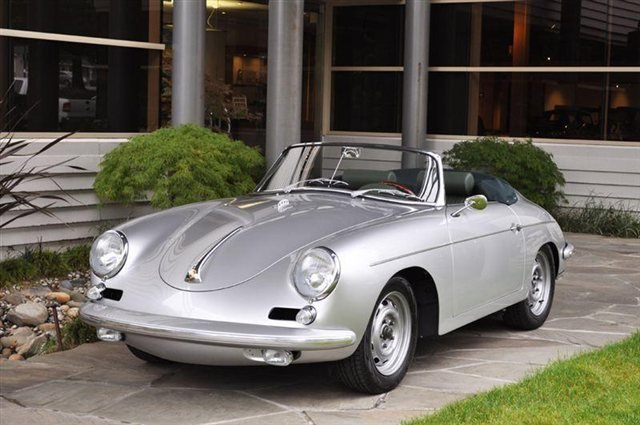 1960 Porsche 356 B Roadster Outlaw Roadster_4702