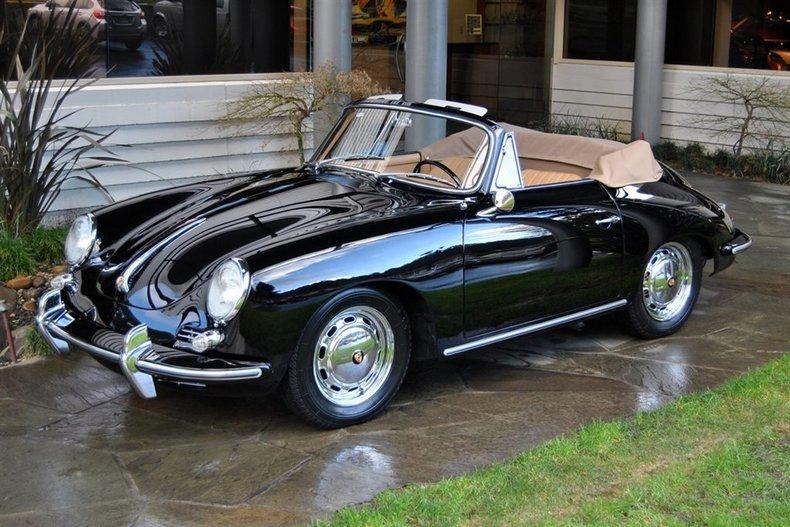 1965 Porsche 356 C Cabriolet_4622