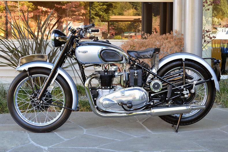 1948 Triumph Tiger 100 _4851