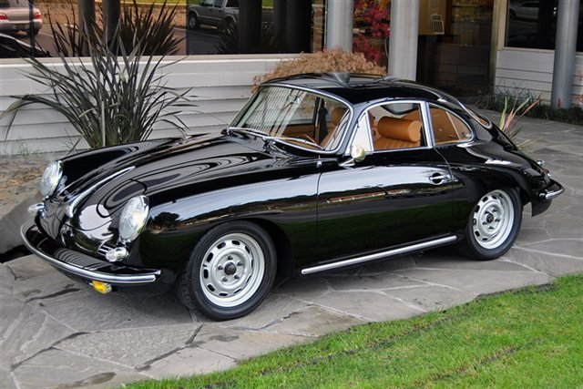1964 Porsche 356 C Sunroof Coupe_4750