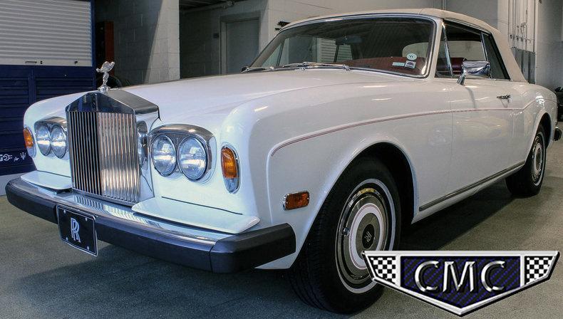 1981 1981 Rols-Royce Corniche For Sale