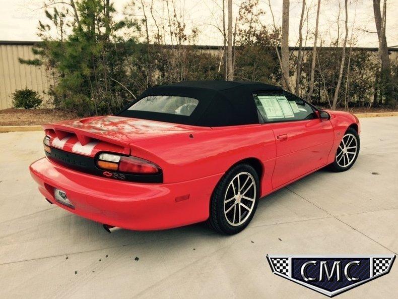 2002 2002 Chevrolet Camaro For Sale