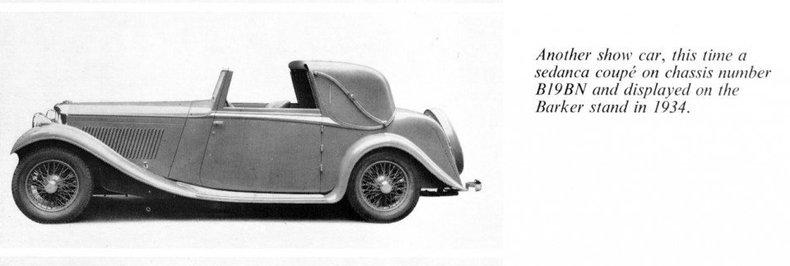 1934 1934 Bentley 3.5 Litre For Sale
