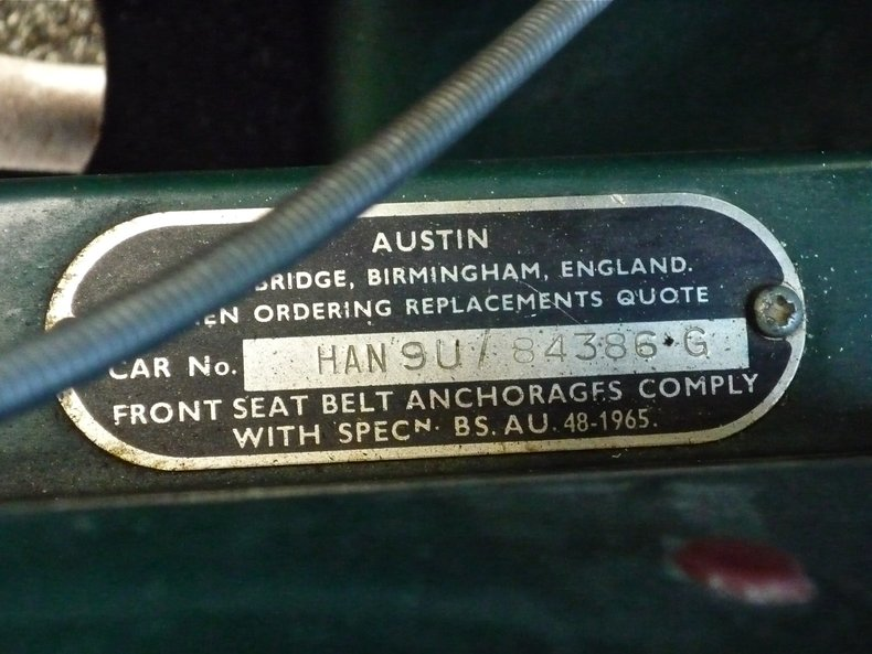 1969 1969 Austin-Healey Sprite For Sale