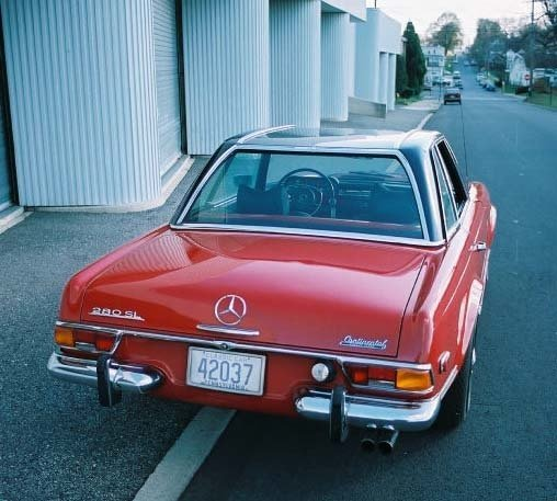 1971 1971 Mercedes-Benz 280SL For Sale