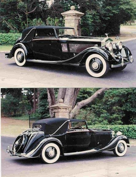 1934 1934 Rolls-Royce Phantom II Continental For Sale