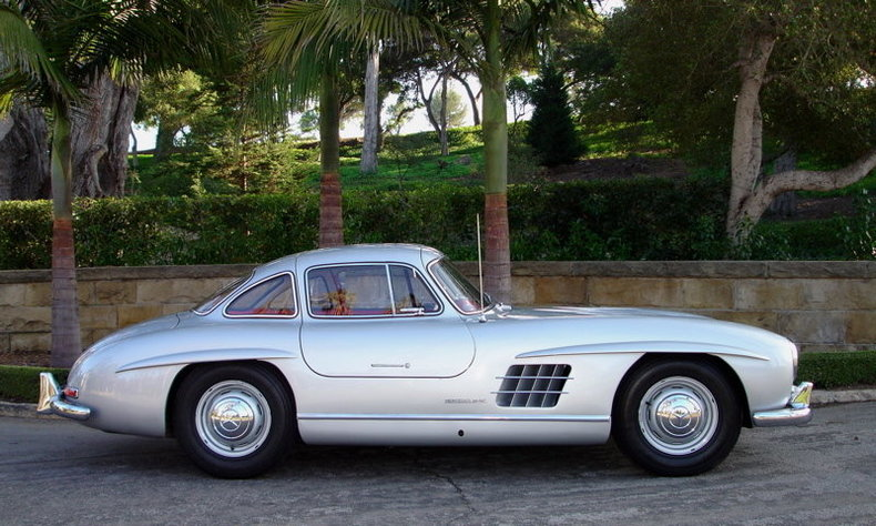 1955 mercedes benz 300sl for Mercedes benz gullwing 1955