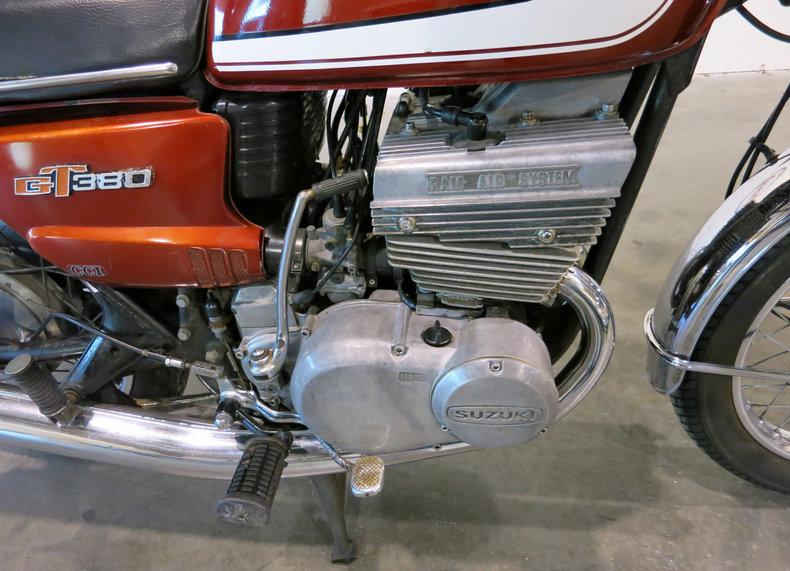 1972 1972 Suzuki GT380 For Sale