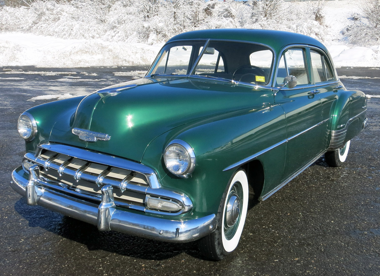 1952 chevrolet styleline connors motorcar company for 1952 chevrolet styleline deluxe 4 door