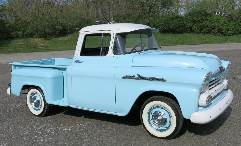 1958 CHEVROLET APACHE 3100 PICKUP | Old Trucks | Pinterest | Chevrolet