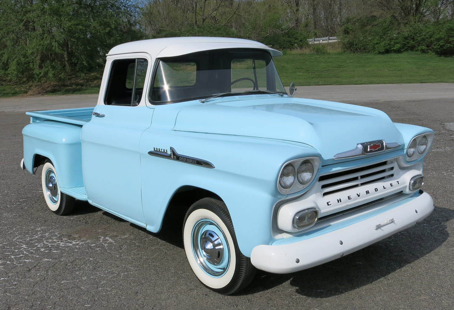 Quick &#39-55-&#39-59 Chevrolet Task Force truck id guide - 1:1 Truck ...