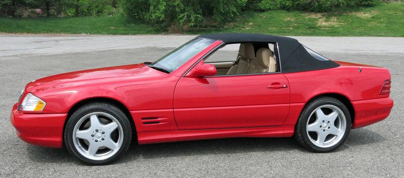 2001 2001 Mercedes-Benz SL500 For Sale