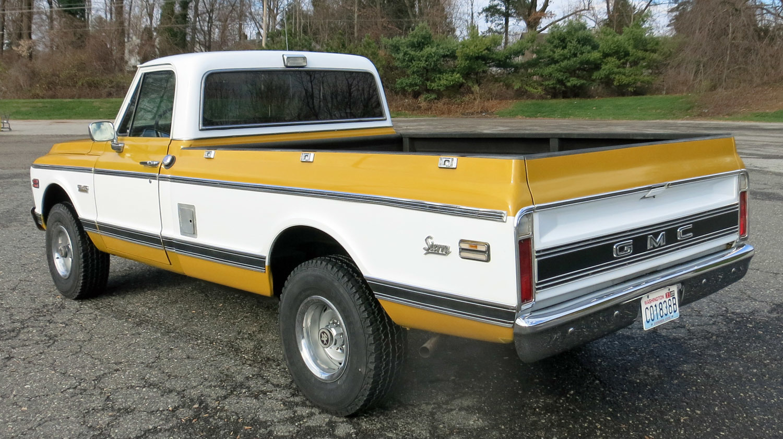 1972 Gmc K 1500 Sierra 4x4 Pick Up