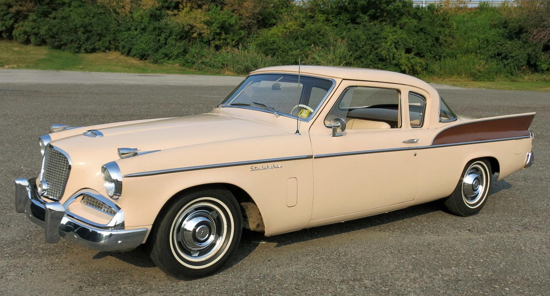 1958 Studebaker Silver Hawk Connors Motorcar Company