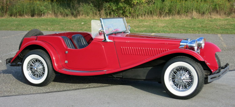 1937 Jaguar SS100
