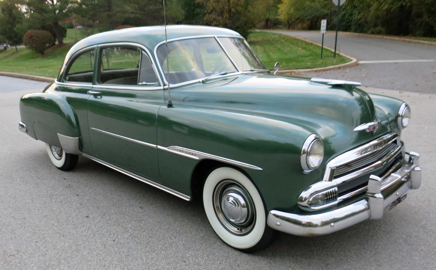 1951 chevrolet styleline connors motorcar company for 1951 chevy deluxe 4 door for sale