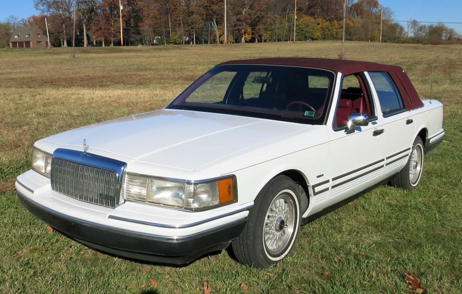 1993 Lincoln Town Car Connors Motorcar Company