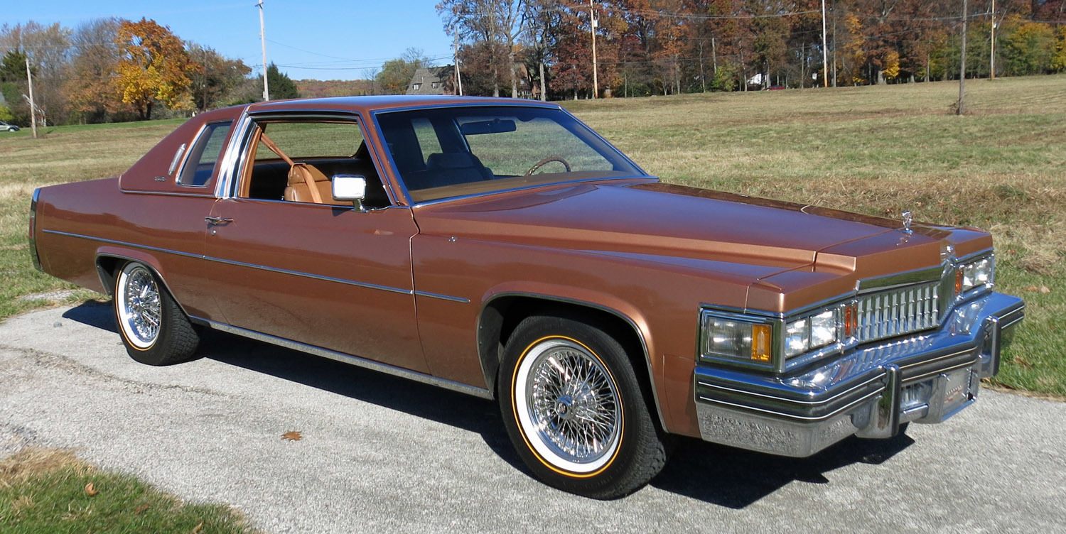 1978 Cadillac Coupe Deville Connors Motorcar Company