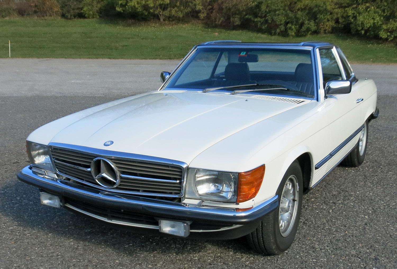 1985 mercedes benz 280sl connors motorcar company for Mercedes benz 280sl