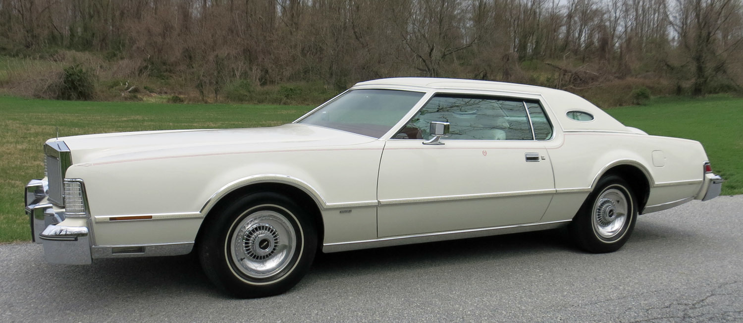 1976 lincoln continental connors motorcar company. Black Bedroom Furniture Sets. Home Design Ideas