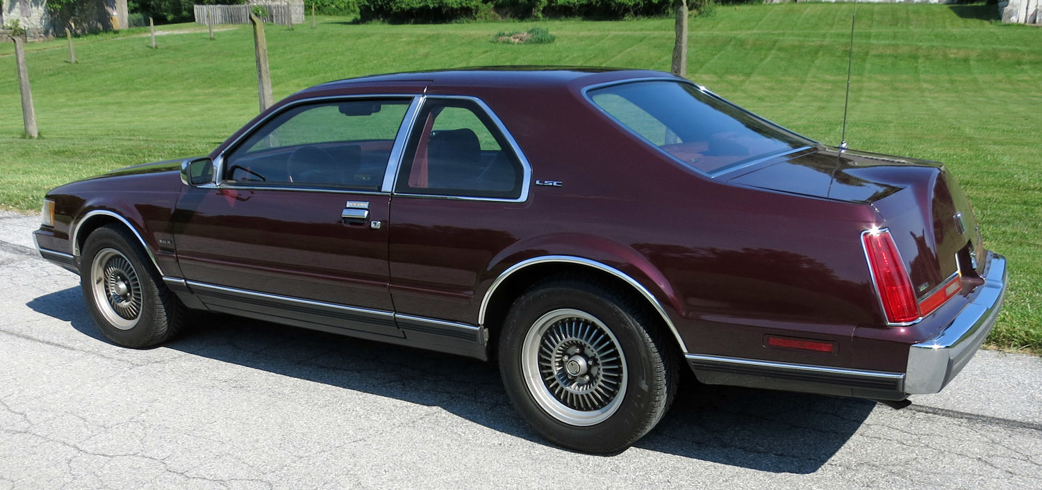 1989 Lincoln Mark Vii Connors Motorcar Company