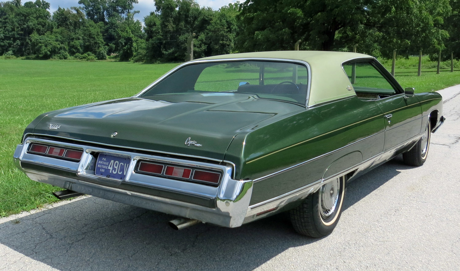 1972 Chevrolet Caprice Connors Motorcar Company