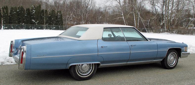 1974 1974 Cadillac Sedan DeVille For Sale