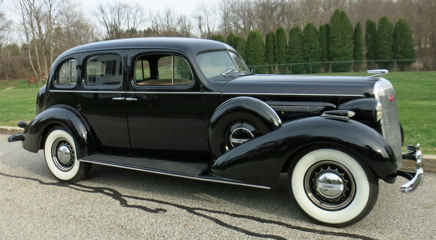 1936 Buick Roadmaster Connors Motorcar Company
