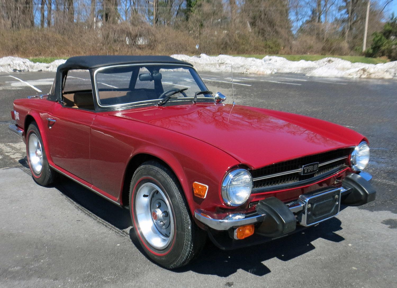 1976 Triumph TR6