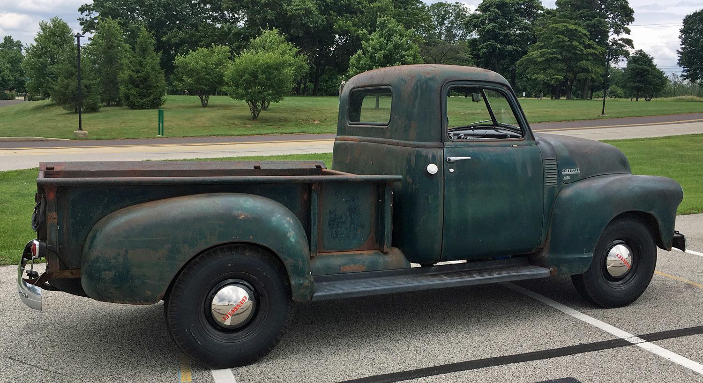 1949 Chevrolet 3-Window Pickup