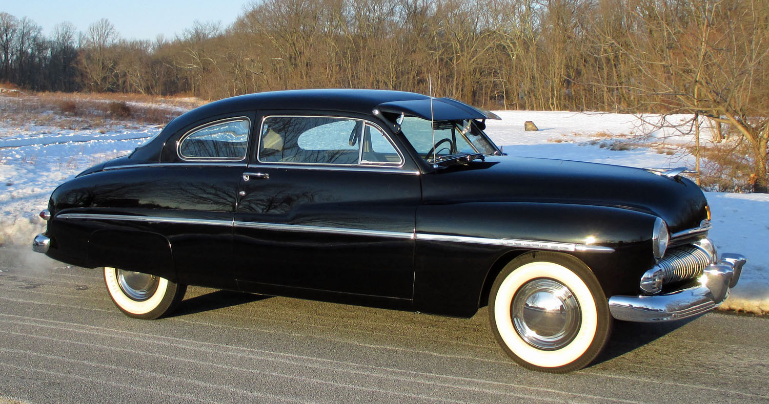 1950 mercury monterey connors motorcar company for 1950 mercury 4 door sedan