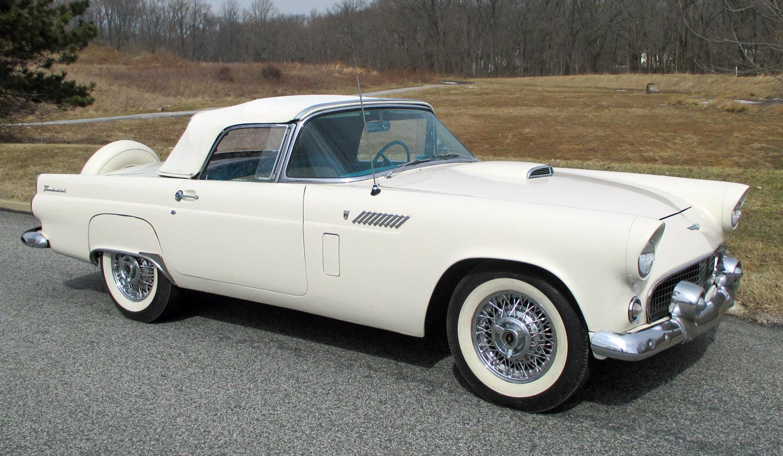 1956 Ford Thunderbird Connors Motorcar Company