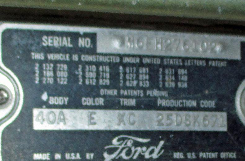 1956 1956 Ford Thunderbird For Sale