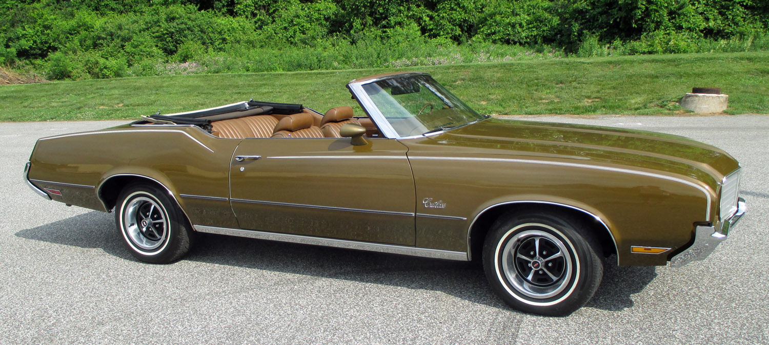 1972 Oldsmobile Cutlass Connors Motorcar Company