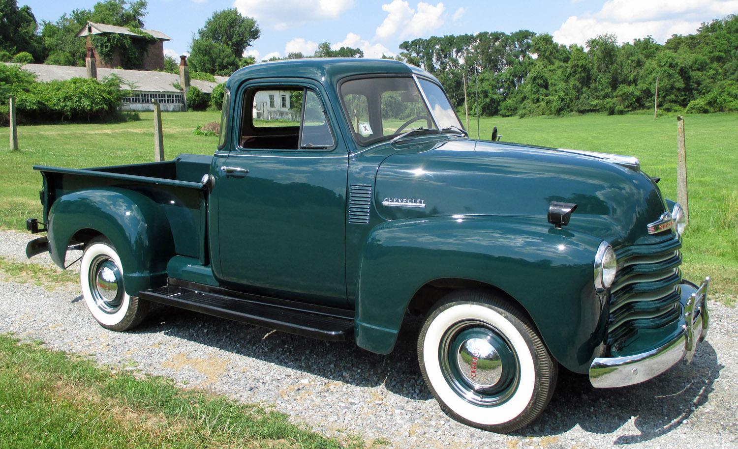 1952 chevrolet 5 window pickup connors motorcar company